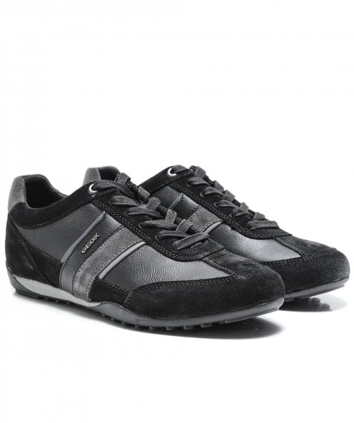 Geox Leather Wells Trainers