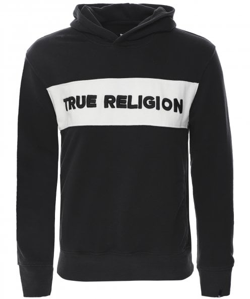 True Religion Embroidered Logo Hoodie