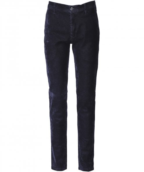 MMX Slim Fit Velvet Denim Lupus Jeans