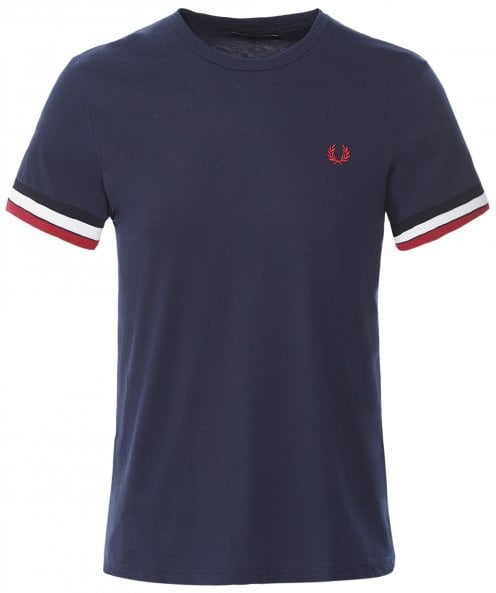 Fred Perry Bold Tipped T-Shirt M7539 266