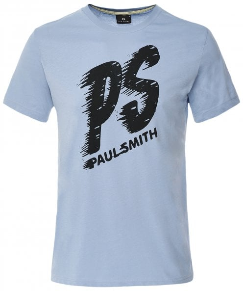 PS by Paul Smith Organic Cotton PS Logo T-Shirt