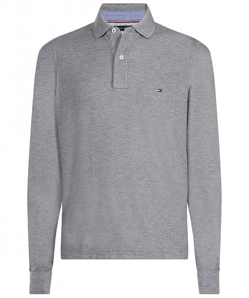 Tommy Hilfiger Slim Fit Premium Pique Long Sleeve Polo Shirt