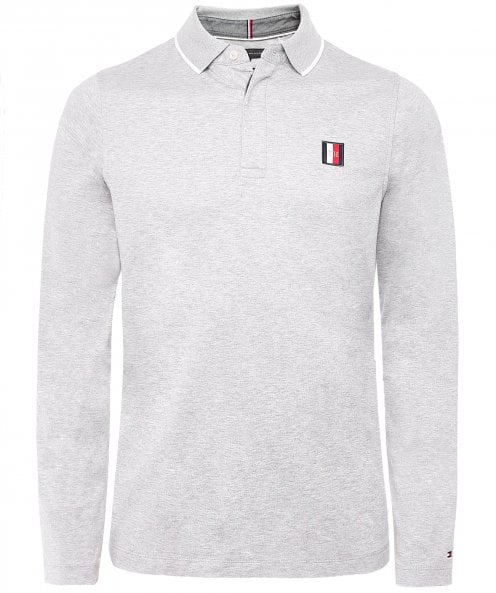 Tommy Hilfiger Slim Fit Flex Icon Long Sleeve Polo Shirt