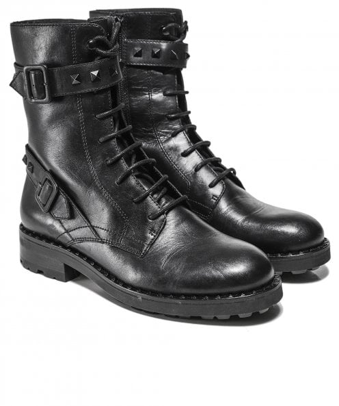 Ash Leather Witch Bis Biker Boots