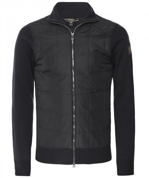 Belstaff Quilted Front New Kelby Cardigan