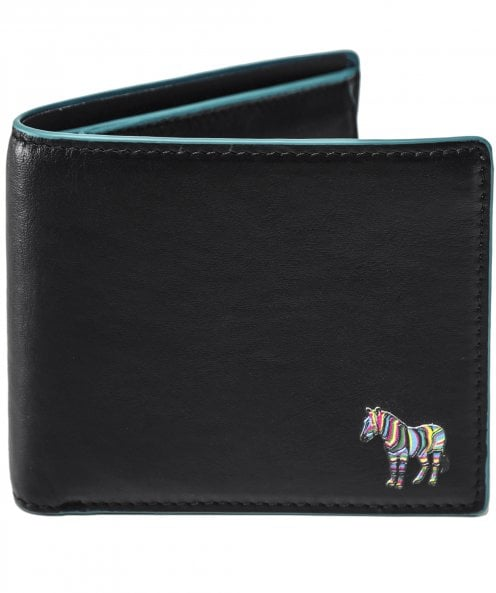 Paul Smith Leather Zebra Coin Wallet