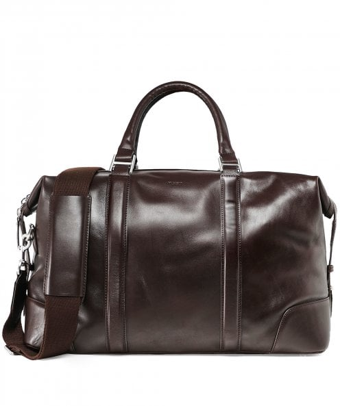 Hackett Leather H Holdall