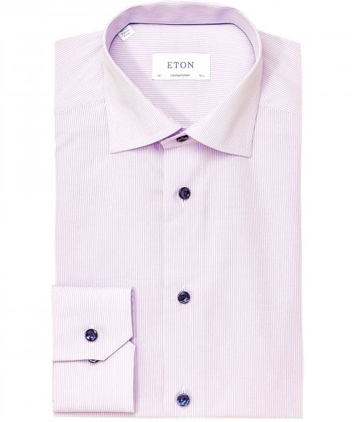 Eton Contemporary Fit Pinstripe Shirt