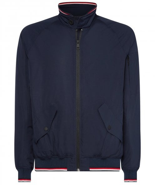 Tommy Hilfiger Water Repellent THFlex Harrington Jacket