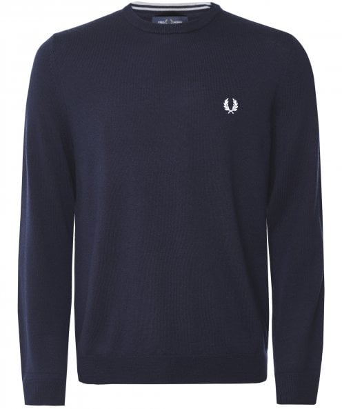 Fred Perry Classic Merino Crew Neck Jumper K7601 395