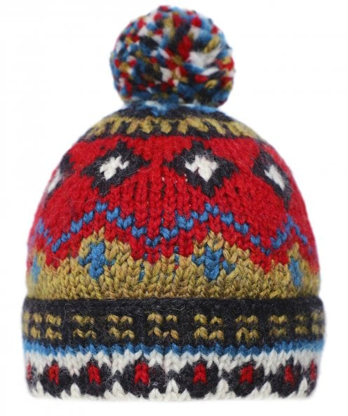 Edmund Hillary Wool Bobble Hat