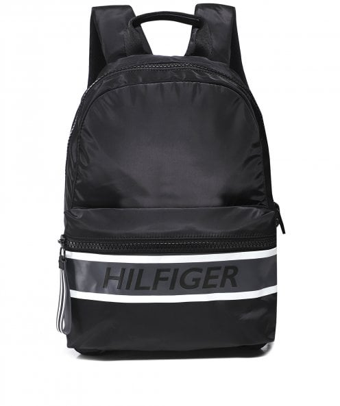 Tommy Hilfiger Colour-Block Logo Backpack