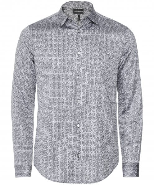 Armani Slim Fit EA Print Shirt