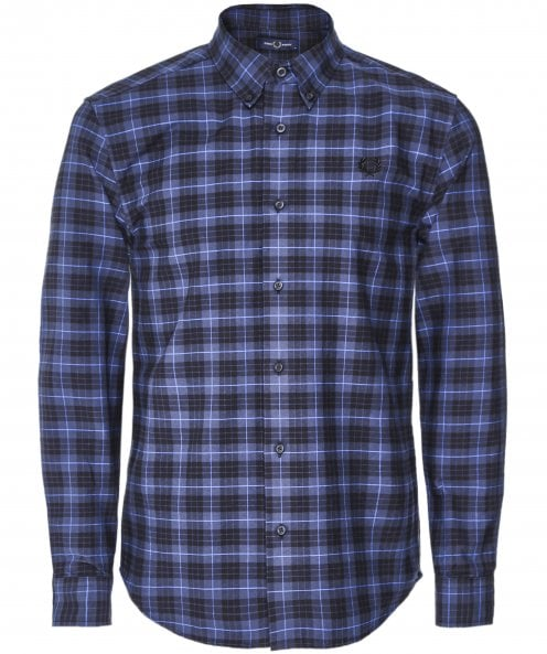 Fred Perry Tartan Oxford Shirt M7557 963