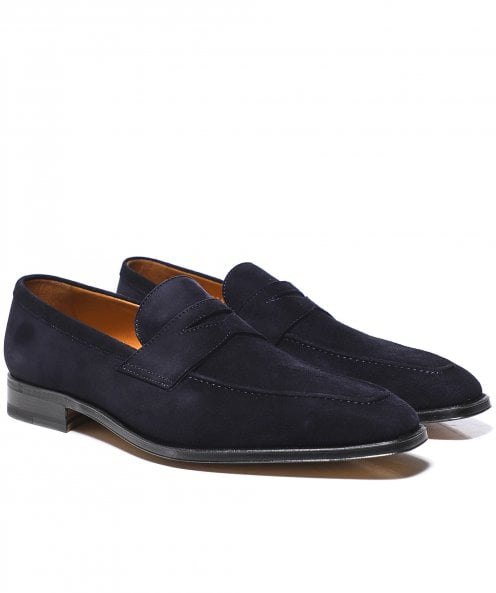 Stemar Suede Napoli Penny Loafers
