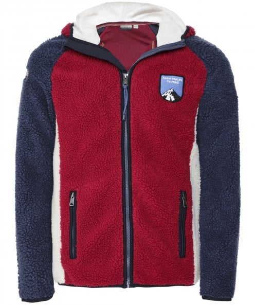 Napapijri Zip-Through Yupik Hooded Fleece