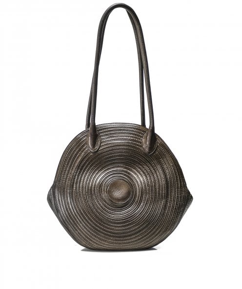 Majo Leather Circle Bag