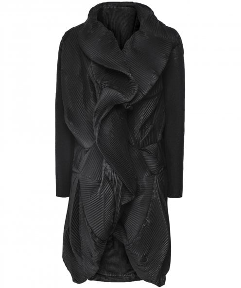NU Structured Pleated Jacket