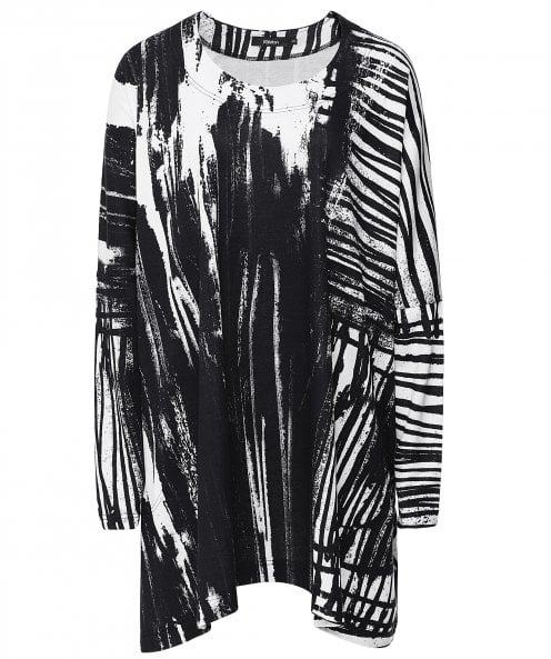 Tufi Abstract Print Tunic Dress