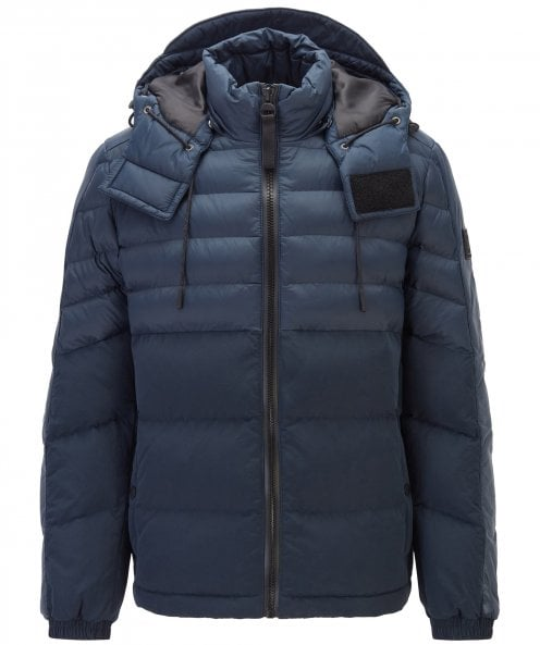BOSS Water-Repellent Quilted Olooh Jacket