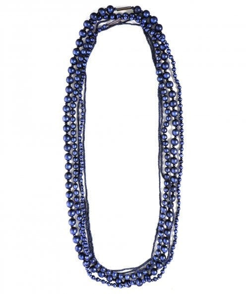 Jianhui Multi Strand Beaded Necklace