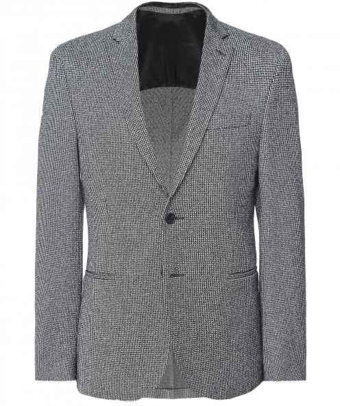 BOSS Stretch Slim Fit Micro Houndstooth Norwin4-J Jacket
