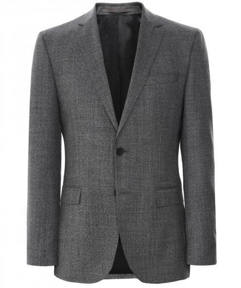BOSS Slim Fit Virgin Wool Novan6 Jacket
