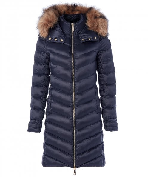 Holland Cooper Faux Fur Molina Padded Coat