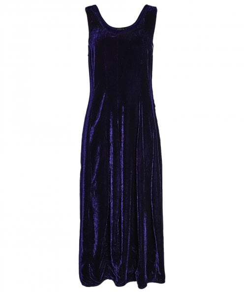 Grizas Velvet Sleeveless Dress
