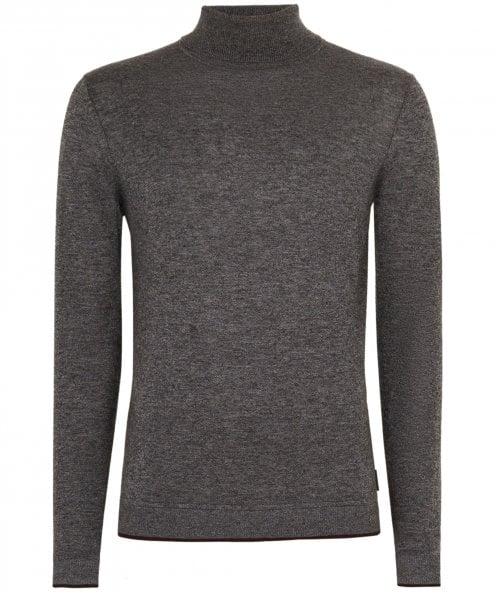 Ted Baker Cashmere Blend Newtrik Roll Neck Jumper