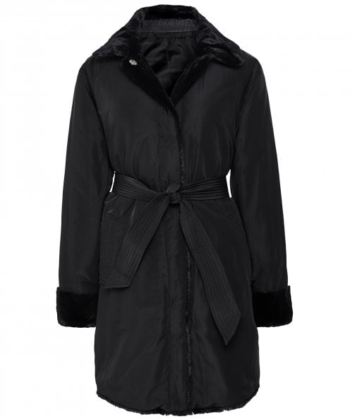 Geox Faux Fur Kaula Reversible Coat