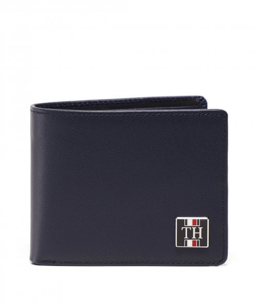 Tommy Hilfiger Leather Logo Badge Wallet