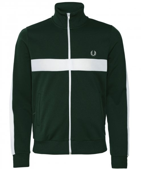 Fred Perry Contrast Panel Track Jacket J7540 406