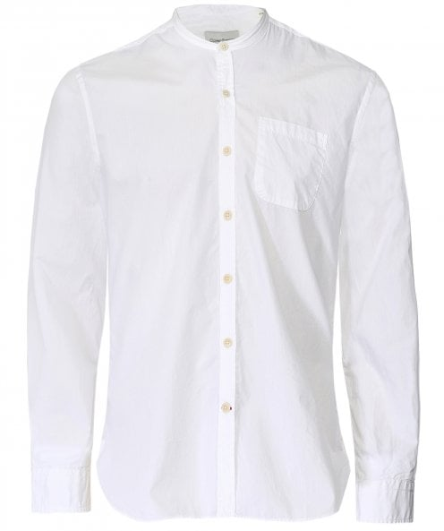 Oliver Spencer Organic Cotton Grandad Abbott Shirt