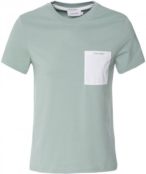 Calvin Klein Organic Cotton Pocket T-Shirt