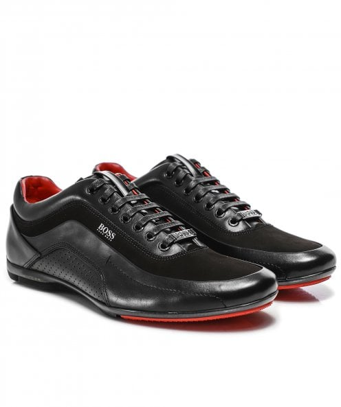BOSS Nappa Leather HB Racing 1 Trainers