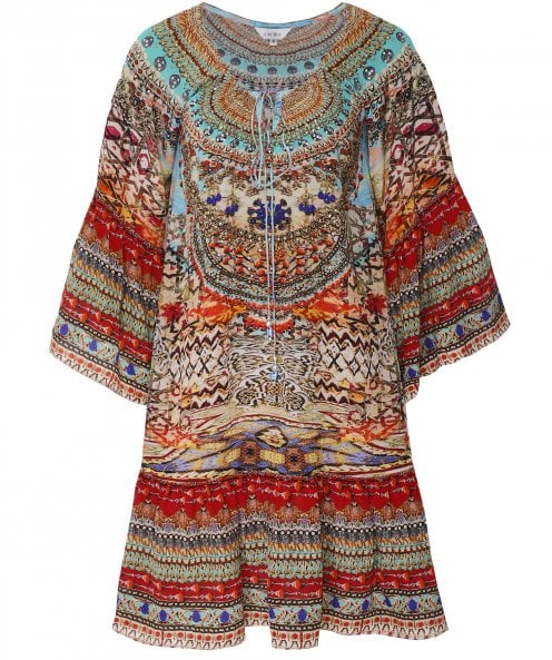 Inoa Arizona Silk Gypsy Dress