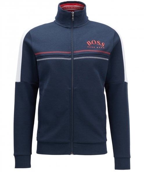 BOSS Zip-Through Skaz Sweatshirt