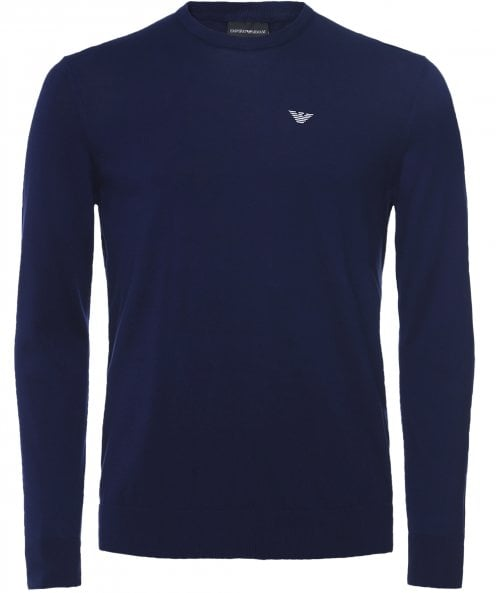 Armani Cotton Crew Neck Jumper
