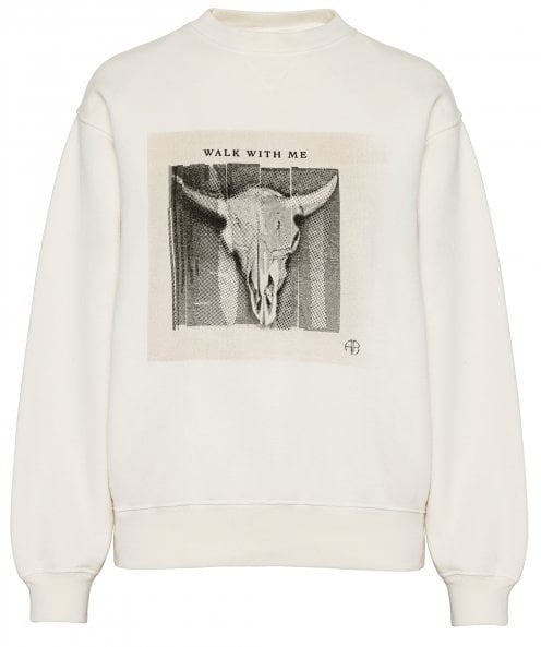 Anine Bing Ramona Walk With Me Sweatshirt