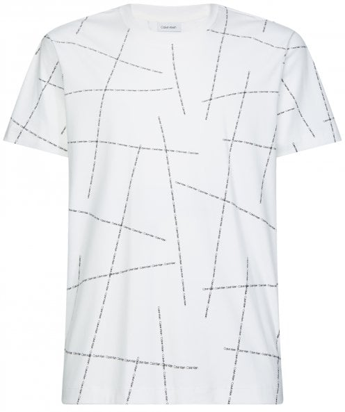 Calvin Klein Relaxed Fit Broken Logo T-Shirt