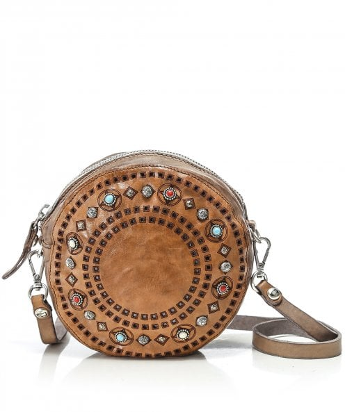 Campomaggi Round Leather Crossbody Bag