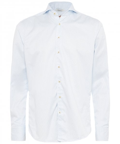 Stenstroms Fitted Body Striped Shirt