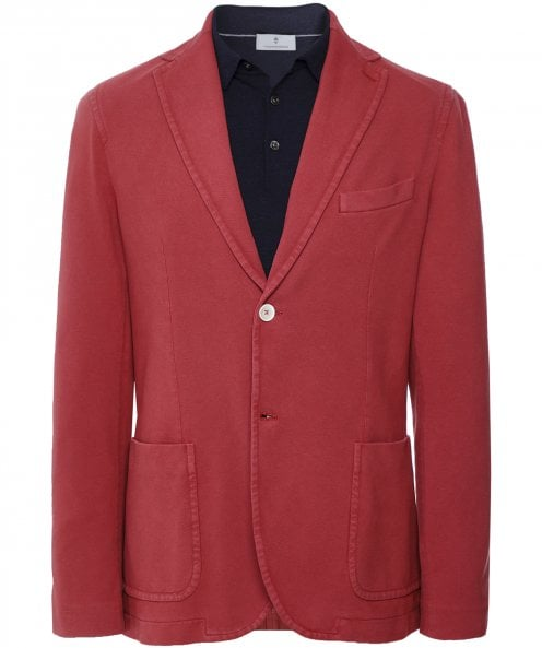 Circolo 1901 Stretch Cotton Frosted Pique Jacket