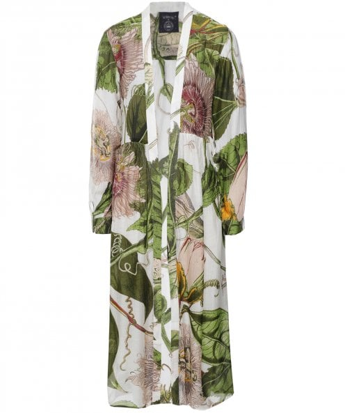 One Hundred Stars Kew Passion Flower Duster Coat
