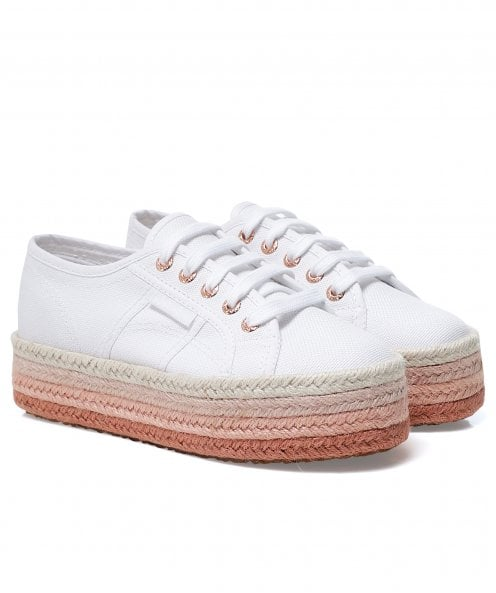 Superga Colour Cotrope Flatform 2790 Trainers