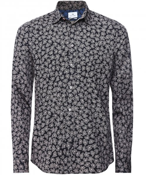 Paul Smith Slim Fit Abstract Floral Shirt