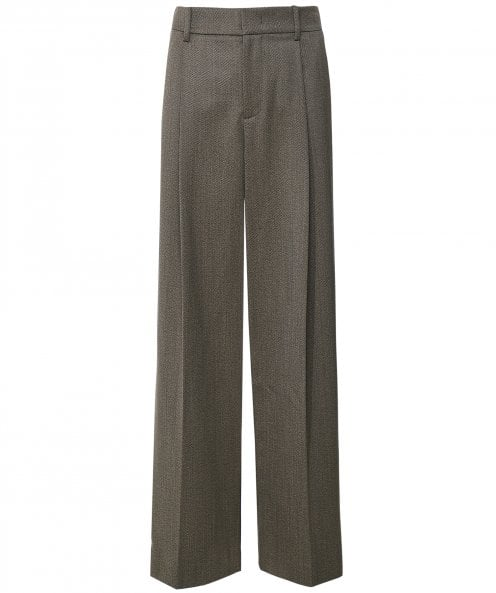 Vince Tailored Twill Trousers
