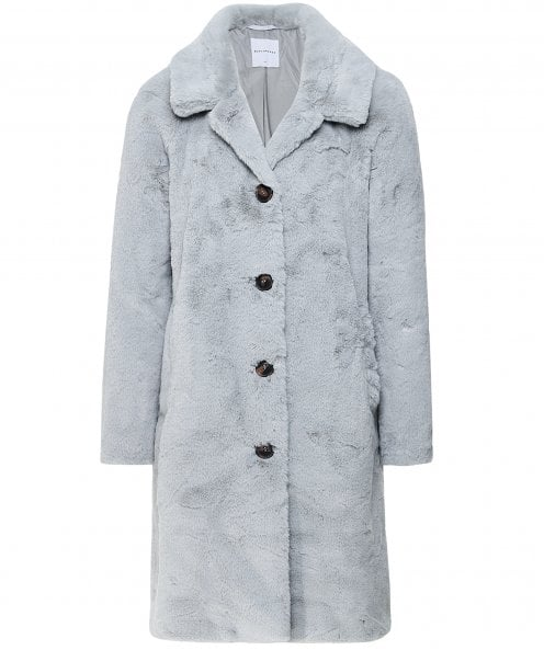 Rino and Pelle Zonna Long Faux Fur Coat