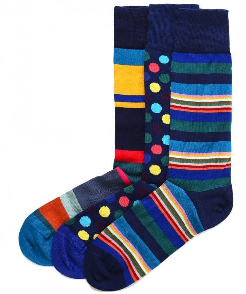 Paul Smith Patterned Socks Three Pack